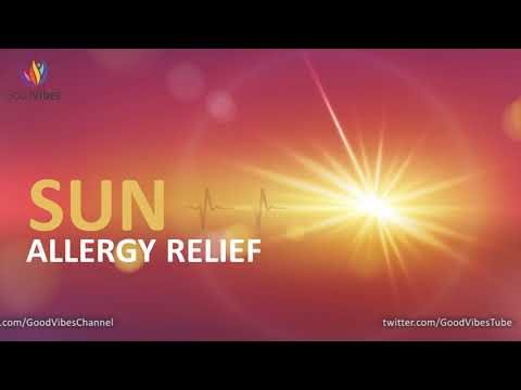 Sun Allergy Relief & Healing ➤ Sun Allergy Treatment ➤ Binaural Beats Sound Therapy