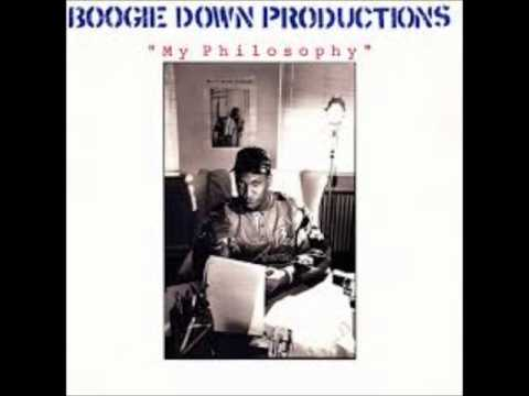 Boogie Down Productions - My Philosophy Instrumental