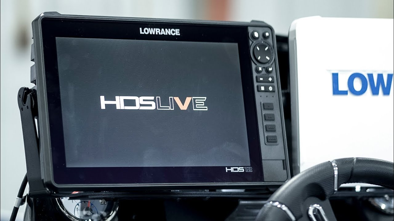 Initial Setup of the Lowrance HDS Live 12inch