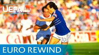 EURO 1984 highlights: France 3-2 Portugal