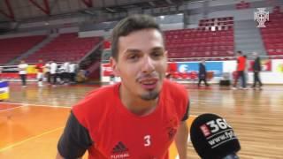 Taça de Portugal Futsal:  Bola ao ângulo com SL Benfica