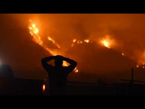 California Thomas Flame: No End In View For One Week-long Fire