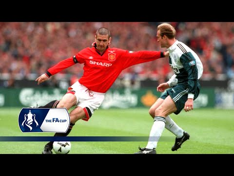 Eric Cantona's 1996 FA Cup Final winning volley   From The Archive