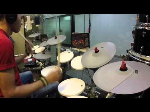 KAT KT3 - Pharrell Williams - Happy - Drum Cover by Ridwan Johari