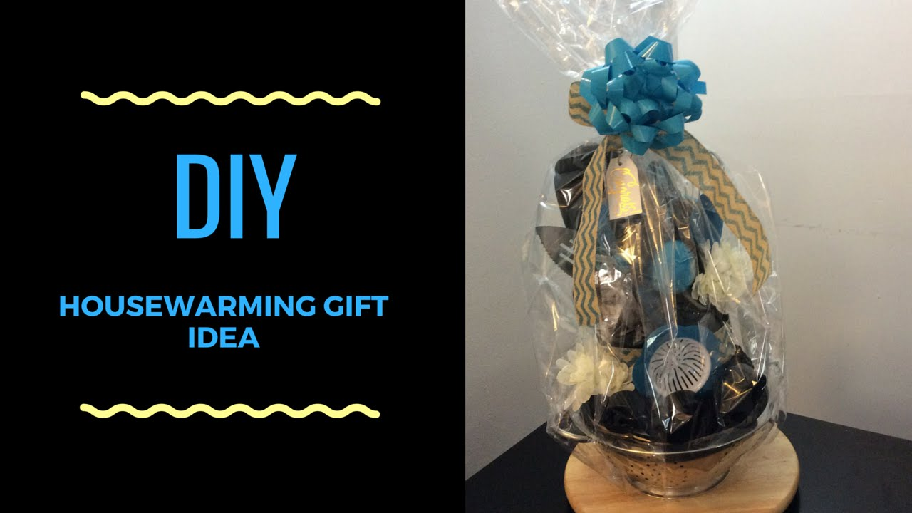 DIY Housewarming Gift Idea & DIY Housewarming Gift Idea - YouTube