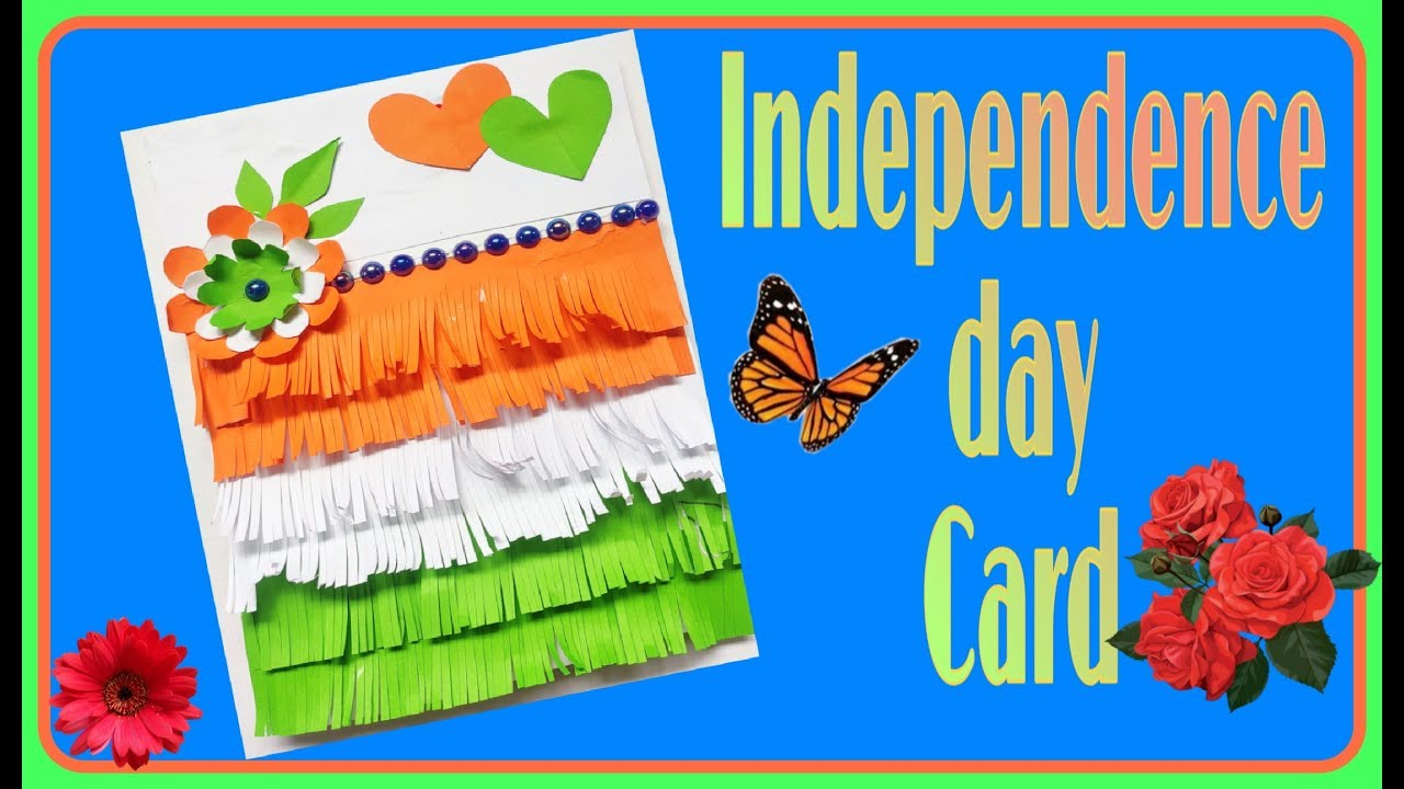 independence day card making idea  independence day