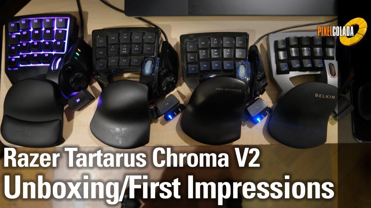 Razer Tartarus Chroma V2   Unboxing First Impression
