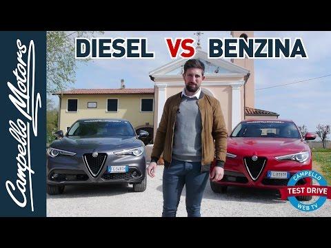 Alfa Romeo Stelvio | Test Drive diesel VS benzina