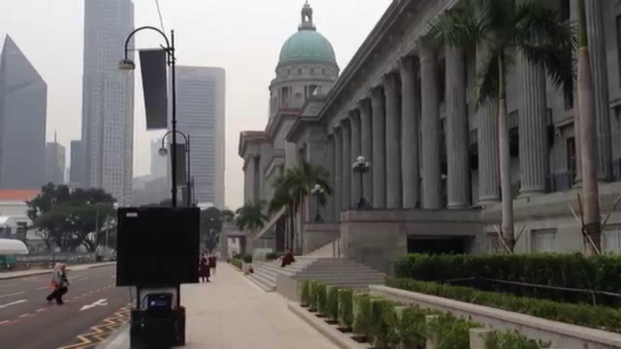 シンガポール 国会議事堂 旧最高...