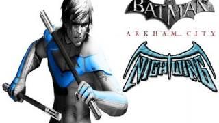 BATMAN ARKHAM CITY - Nightwing Wayne Manor Challenge Map