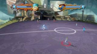 academy of champions soccer wii full match gameplay