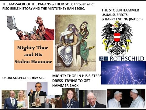 Thors Hammer STOLEN by Rothschild Austrian MASTER Race GOVE