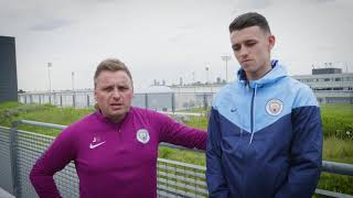 James Baldwin & Phil Foden (Man City FC) - Testimonial