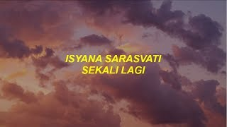 Video isyana sarasvati - sekali lagi lyrics/lirik download MP3, 3GP, MP4, WEBM, AVI, FLV Februari 2018