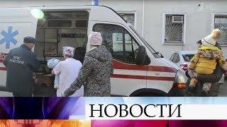 ВМоскву иСанкт-Петербург изДонбасса перевезли детей, остро нуждающихся вмедицинской помощи.