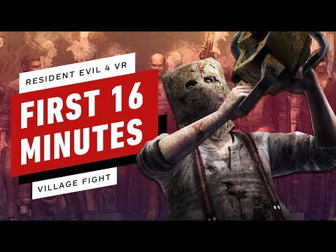 Download Resident Evil 4 VR - First 16 Minutes of Gameplay (Village & Chainsaw Fight)