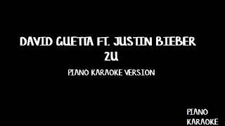 Video David Guetta ft Justin Bieber - 2U - Piano Karaoke download MP3, 3GP, MP4, WEBM, AVI, FLV Februari 2018
