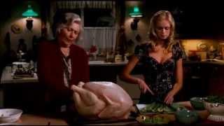 Приготовление индейки на рождество.Cooking a turkey for Christmas.