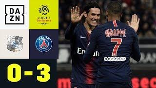 Edinson Cavani & Co. geben sich keine Blöße und siegen: Amiens - PSG 0:3 | Ligue 1 | Highlights