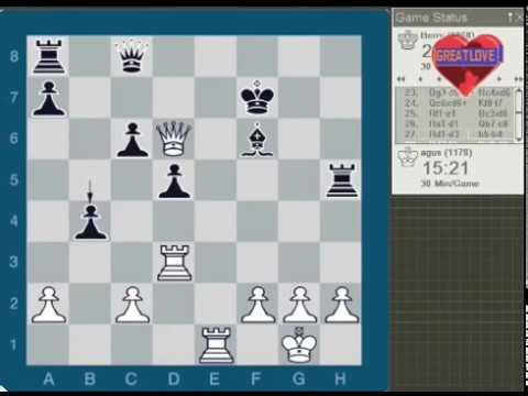 Magnus carlsen sukses buat pusing musuhnya!!!  magnus Carlsen vs torstein bae 2006.