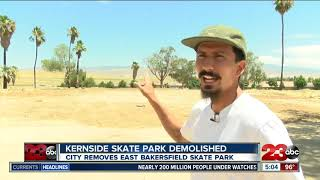 Kernside Skate Park demolished
