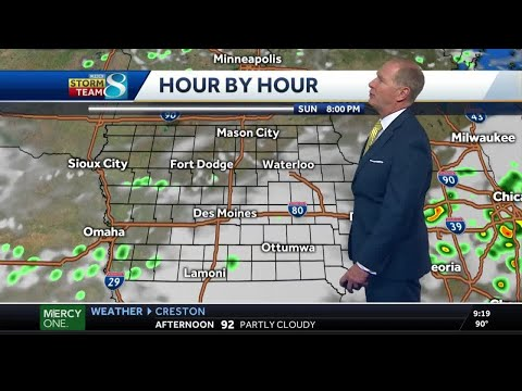 Storms, Cooler Temperatures To Come