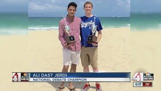 Students are first in Kansas to win national tournament
