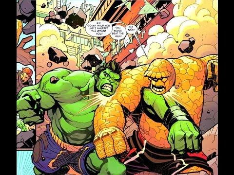 Hulk Vs Thing Youtube