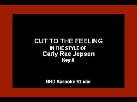 Cut To The Feeling (In the Style of Carly Rae Jepsen) (Karaoke with Lyrics)