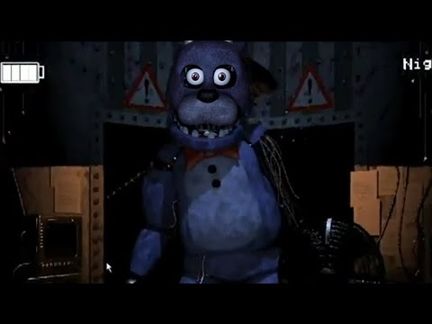 Five Nights at Freddy's 2: BONNIE WITH HIS FACE! (FNAF1 FACE)