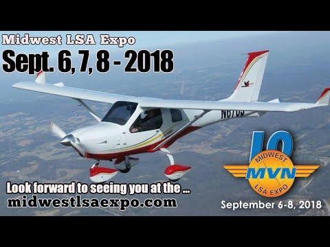 Midwest LSA Expo September 6, 7 & 8, 2018 – Jabiru J170D light sport aircraft review.