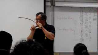 弓琴 another example of the tiftif datok, the aborigine bow harp