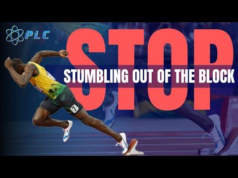 Usain Bolt Start Mechanics Breakdown | Stop Stumbling Out the Blocks