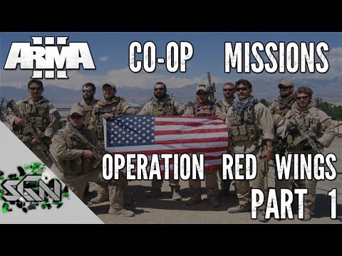 ArmA 3 - Co-op Mission: Operation Red Wings - Part 1 - AMBUSHED (Lone Survivor)