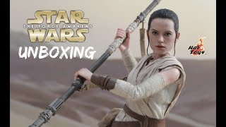 Unboxing | Rey (Star Wars: The Force Awakens) Escala 1/6 Hot Toys