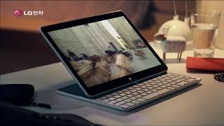 2013년 LG 탭북 CF 1080i
