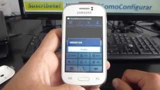 como saber numero de sim card tigo en Samsung Galaxy young español Full HD