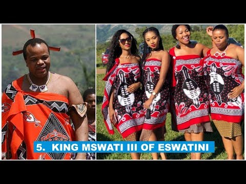 Top 5 Most Powerful Kings in Africa