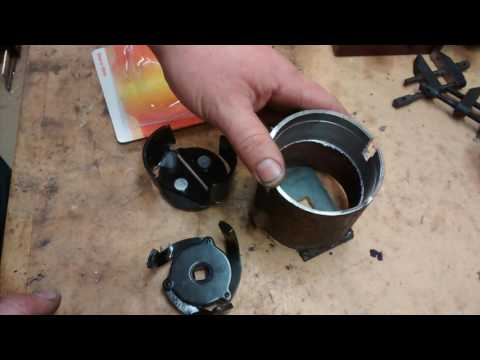 DIY Toyota oil filter wrench - YouTube