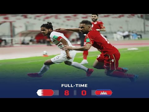 Highlight - FIFA World Cup Qatar 2022 Qualifiers || Bahrain 8 Vs Cambodia 0