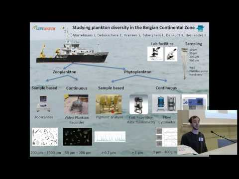 Jonas Mortelmans - LifeWatch: studying plankton diversity in teh Belgian continental zone