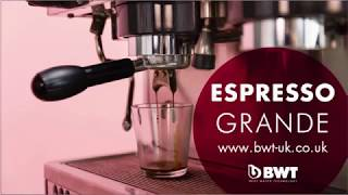 Make perfect coffee with BWT Magnesium Mineralized Water