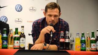 Pressekonferenz KSV Hessen Kassel - Eintracht Frankfurt II