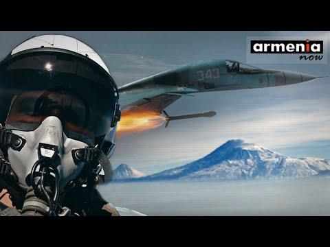 Истребитель СУ-30: Полет армянских летчиков