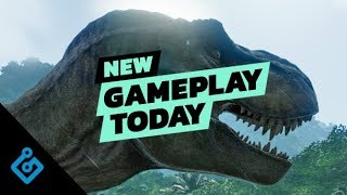 New Gameplay Today - Jurassic World Evolution