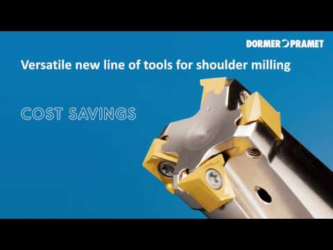Pramet TNGX10 shoulder milling inserts and cutters