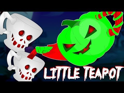 I'm A Little Teapot  | Scary Nursery Rhymes | Kids Songs | Childrens Rhymes