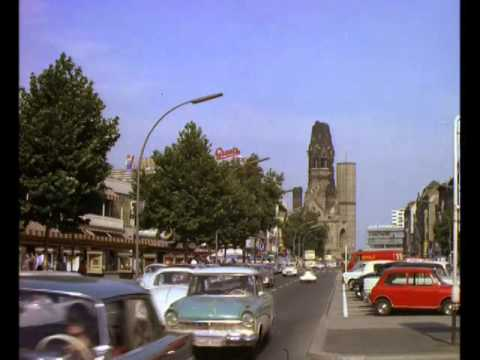 Late 1960s Berlin Street Scenes, 35mm Colour Archive Footage