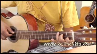 Derroche - Ana Belen - Como tocar en guitarra