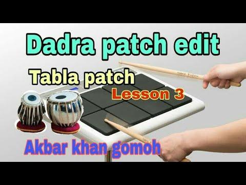 Dadra patch edit || ROLAND 20 X OCTAPAD || LESSON 3